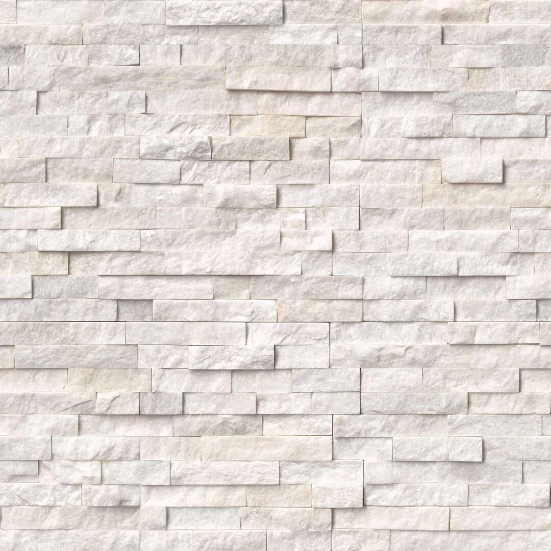 Msi Arctic White Ledger Panel Centurion Stone Of Iowa